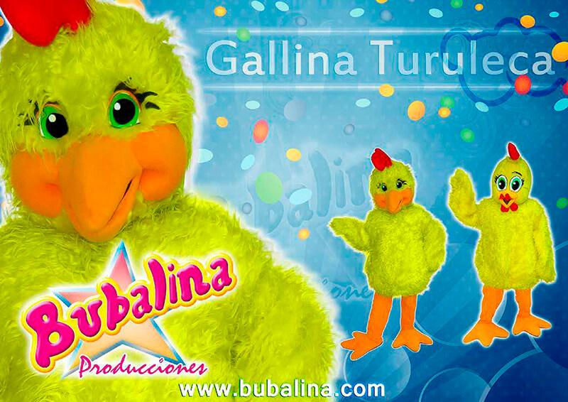 Show infantil la gallina turuleca