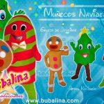 Muñecos navideños para fiestas infantiles