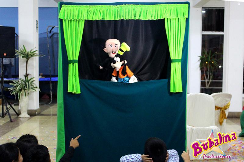 show de títeres para niños