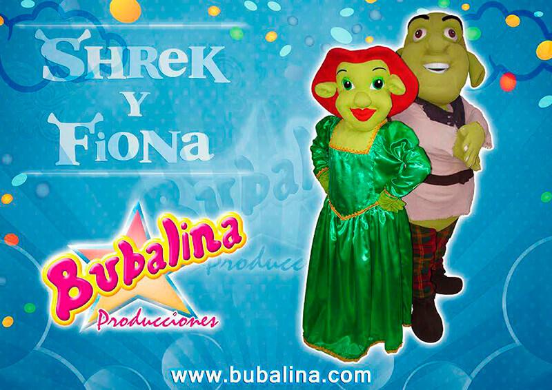 Fiesta infantil shrek