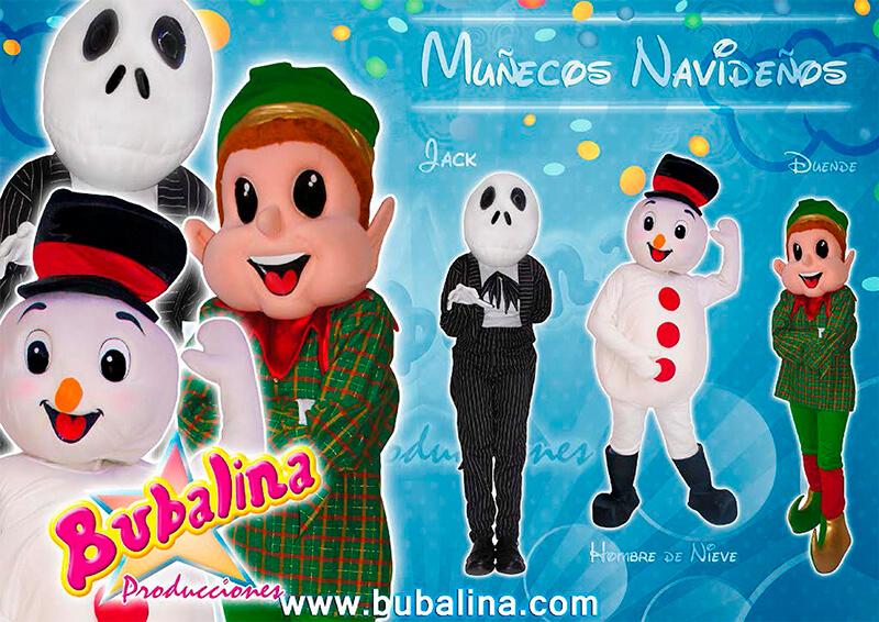 shows de muñecos navideños