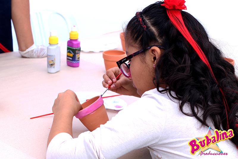 talleres de pintura para fiestas infantiles