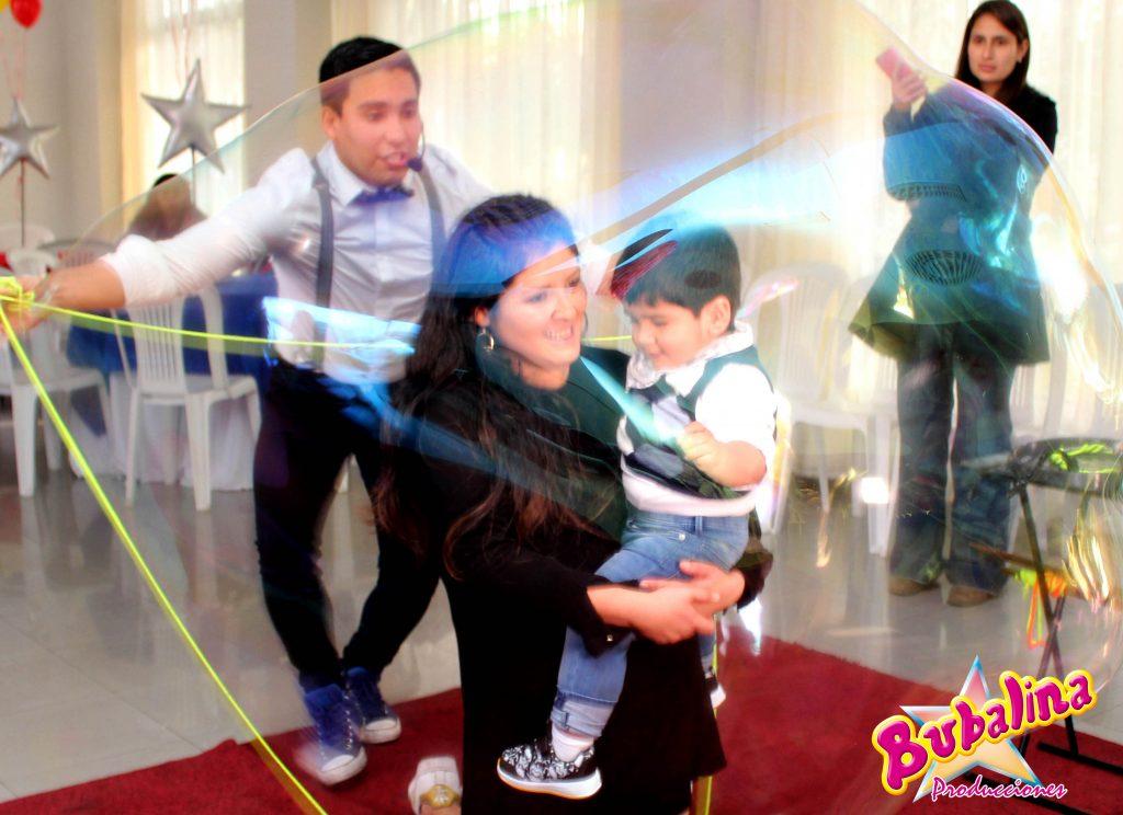 show de burbujas para eventos infantiles