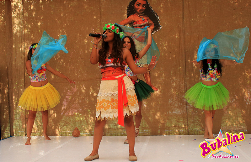 shows infantiles de Moana