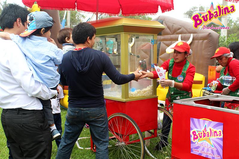 servicio pop corn para fiestas infantiles