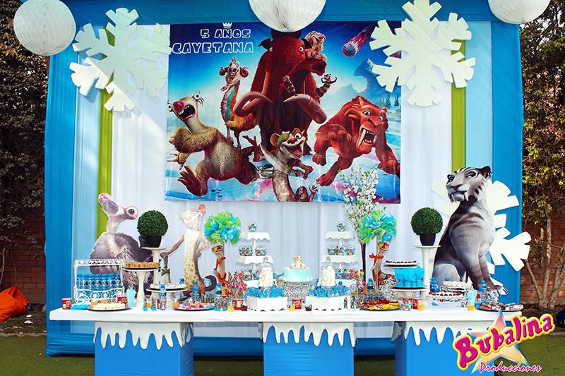 Servicios de decoración para fiestas infantiles