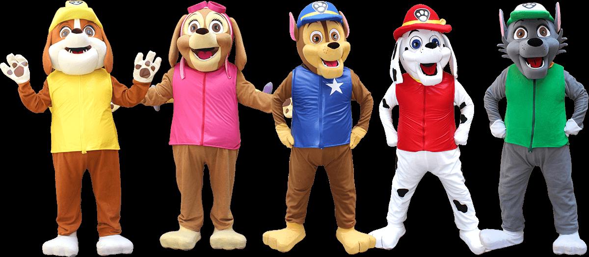 Muñecos de paw patrol en Lima
