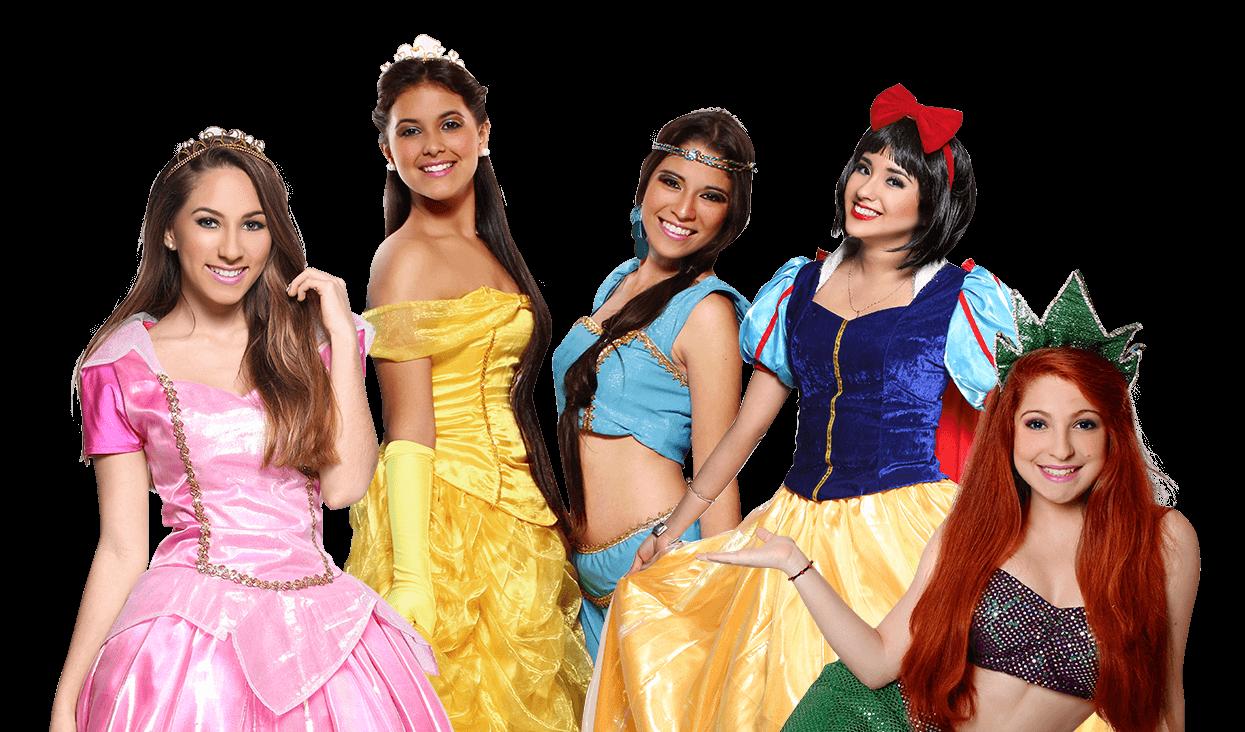 Show de princesas para fiestas infantiles