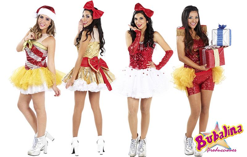 animadoras para eventos navideños