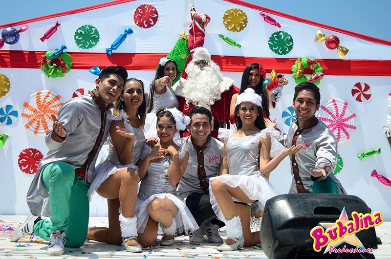Show navideño para eventos corporativos