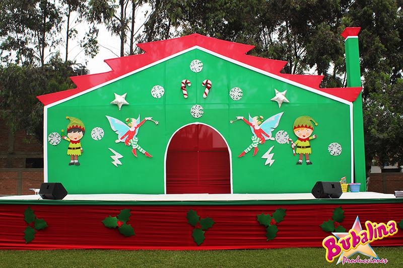 servicio de toldos para eventos navideños