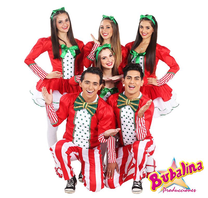 Shows de navidad con bailarines