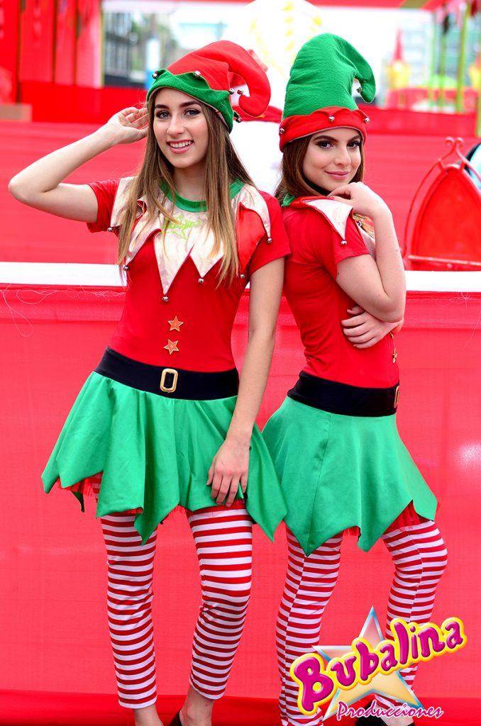 bailarinas para eventos corporativos navideños
